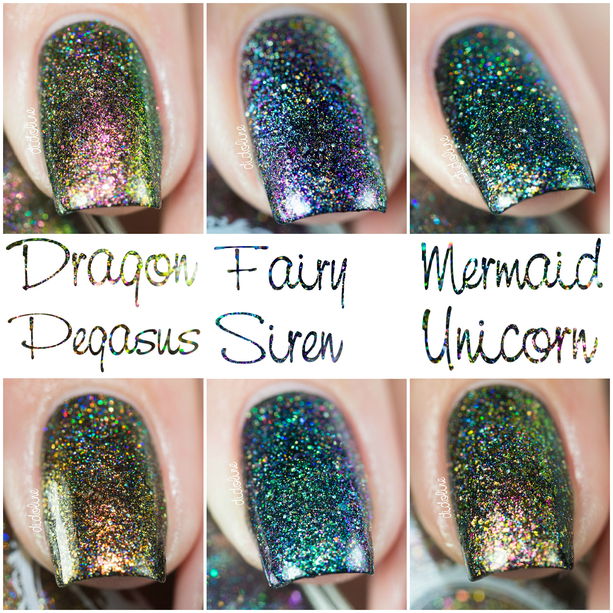 Enchanted Polish - The Fantasy Collection ! - Didoline\'s Nails