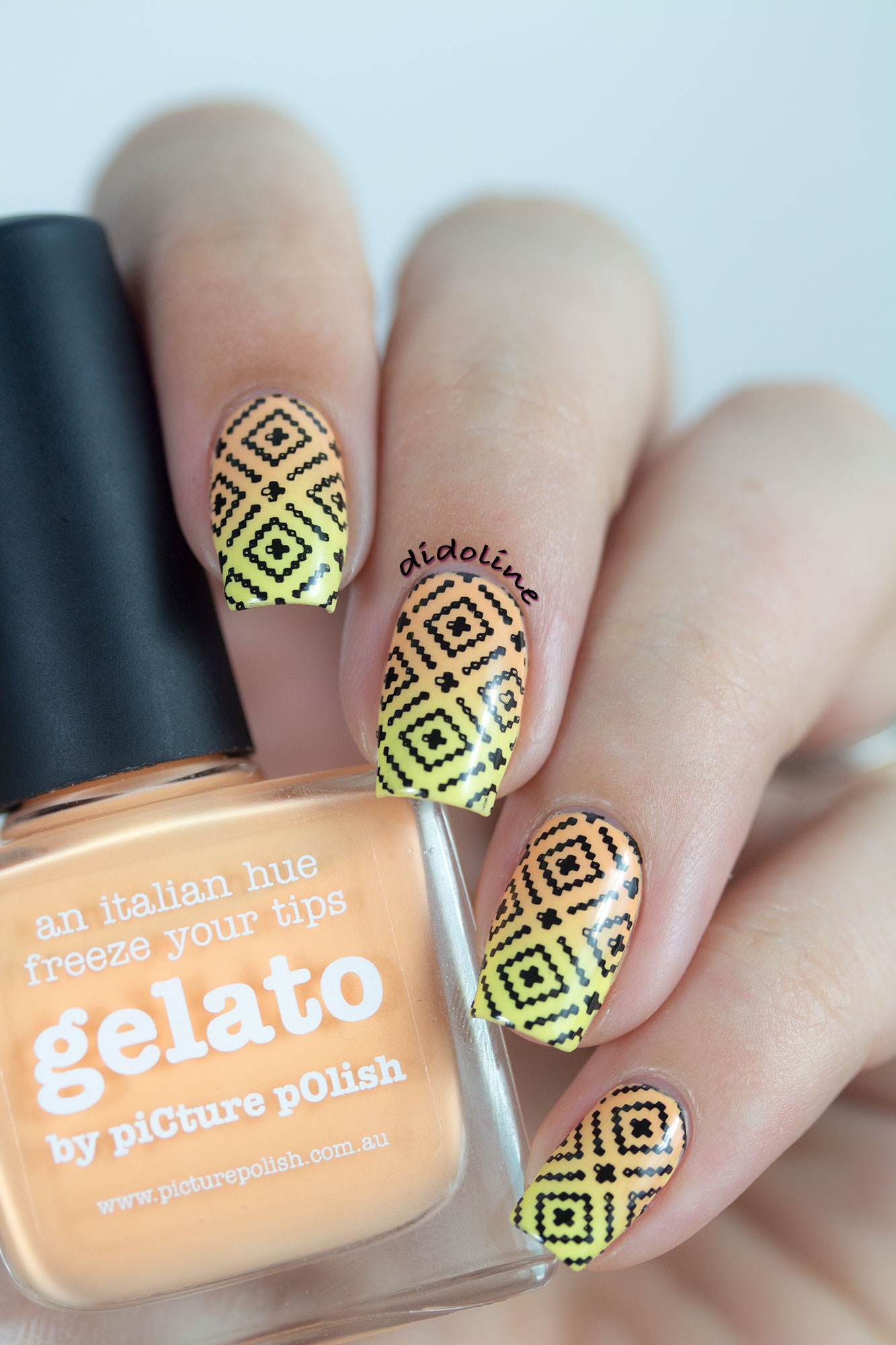 piCture pOlish - Sorbet, Gelato and Stamping !