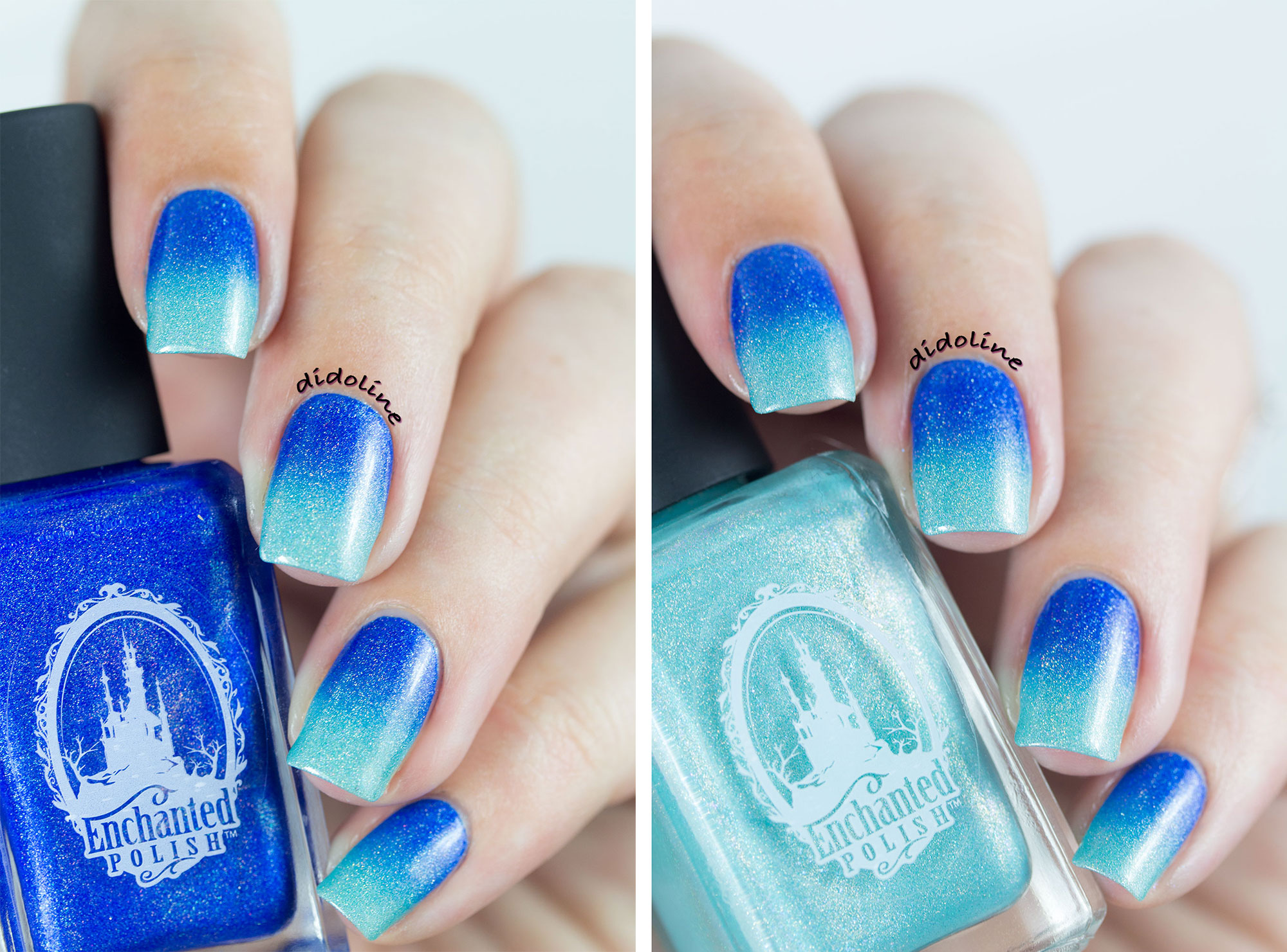 Enchanted Polish - Gradient Nails with May 2015 and Daydream