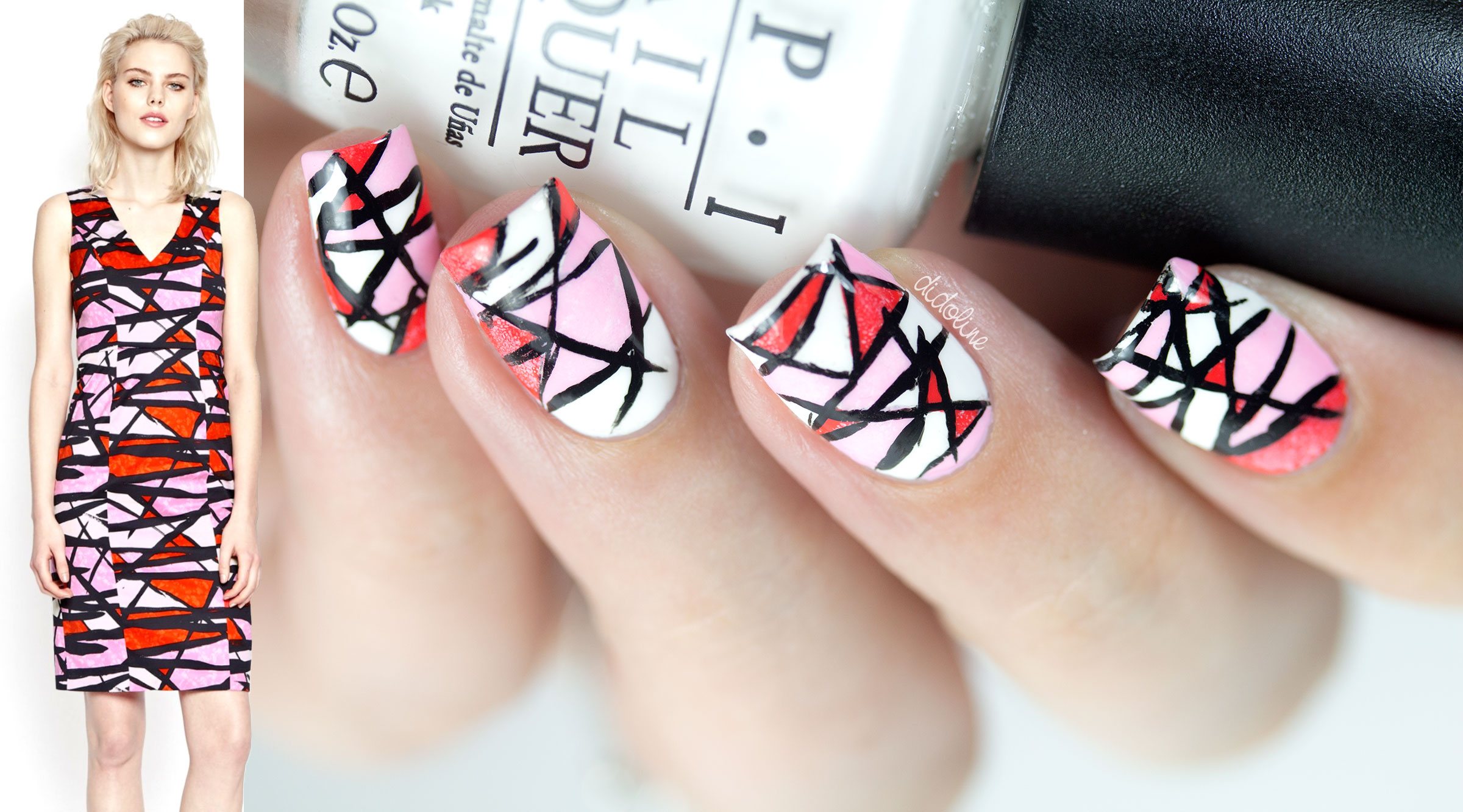 Fashion Friday Nails - French Connection