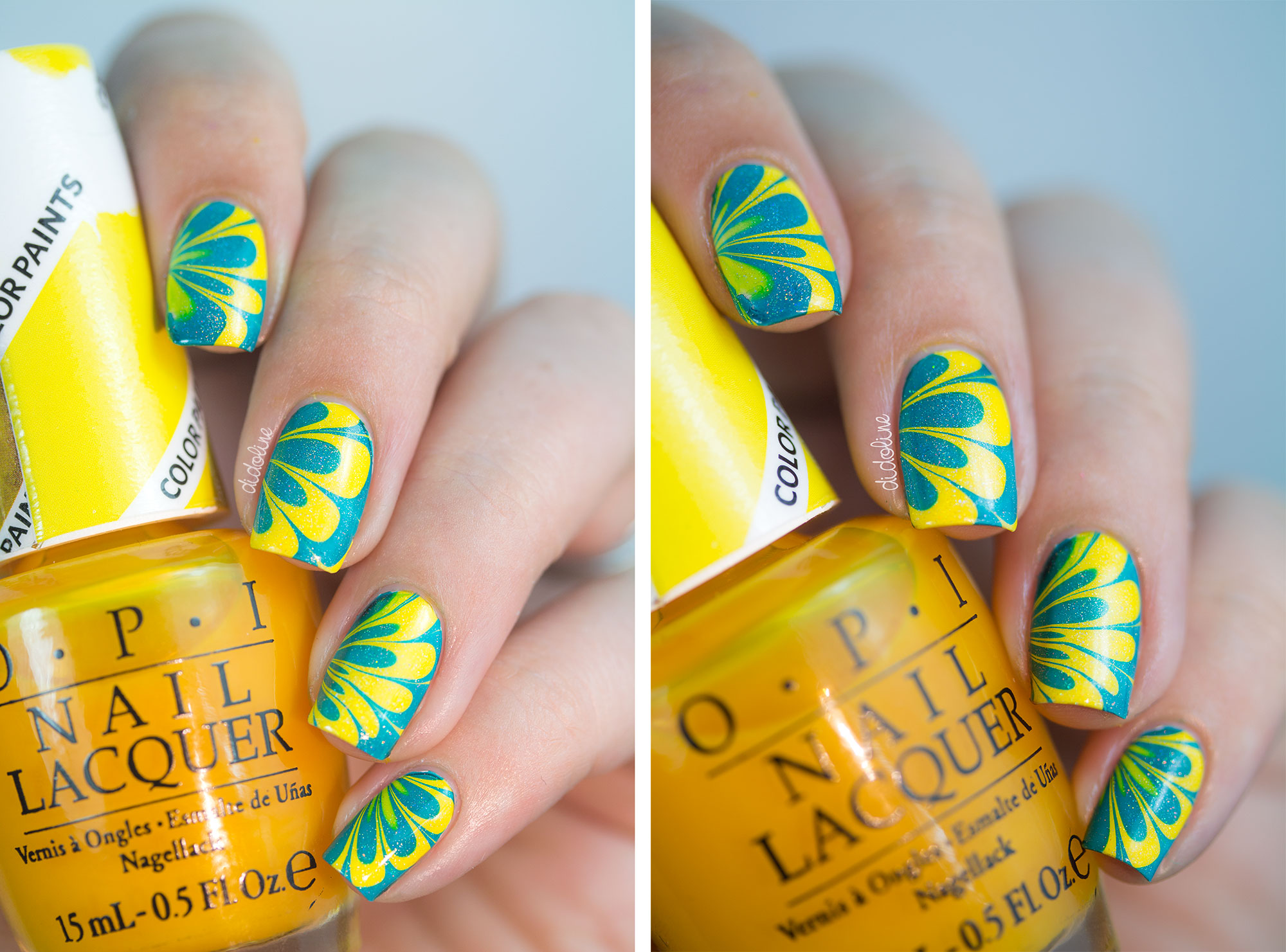 OPI - Color Paints - Watermarble