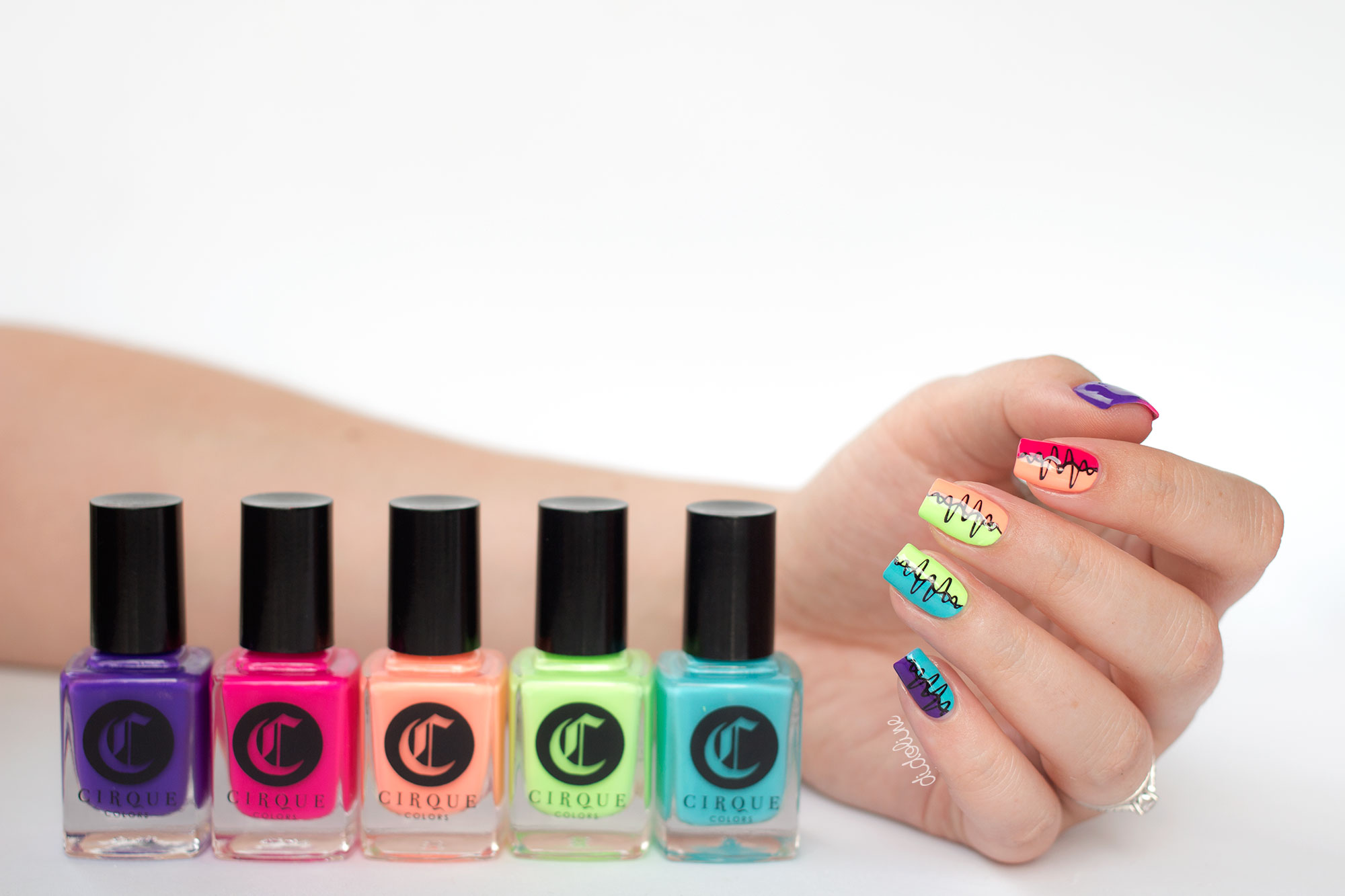 Cirque - Vice Collection - Nail Art