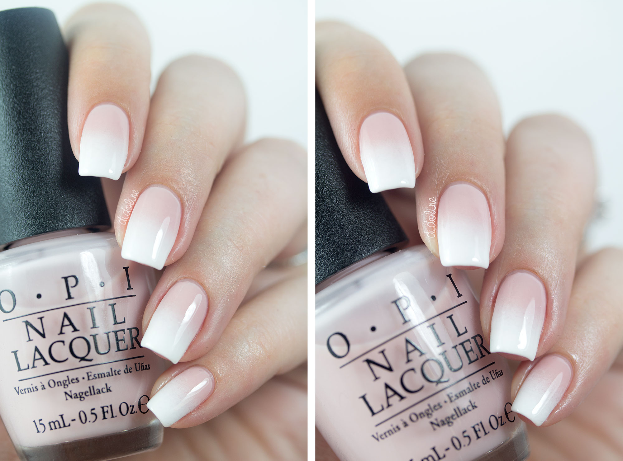 OPI - Soft Shades 2015 - Put it in Neutral - Gradient Nails