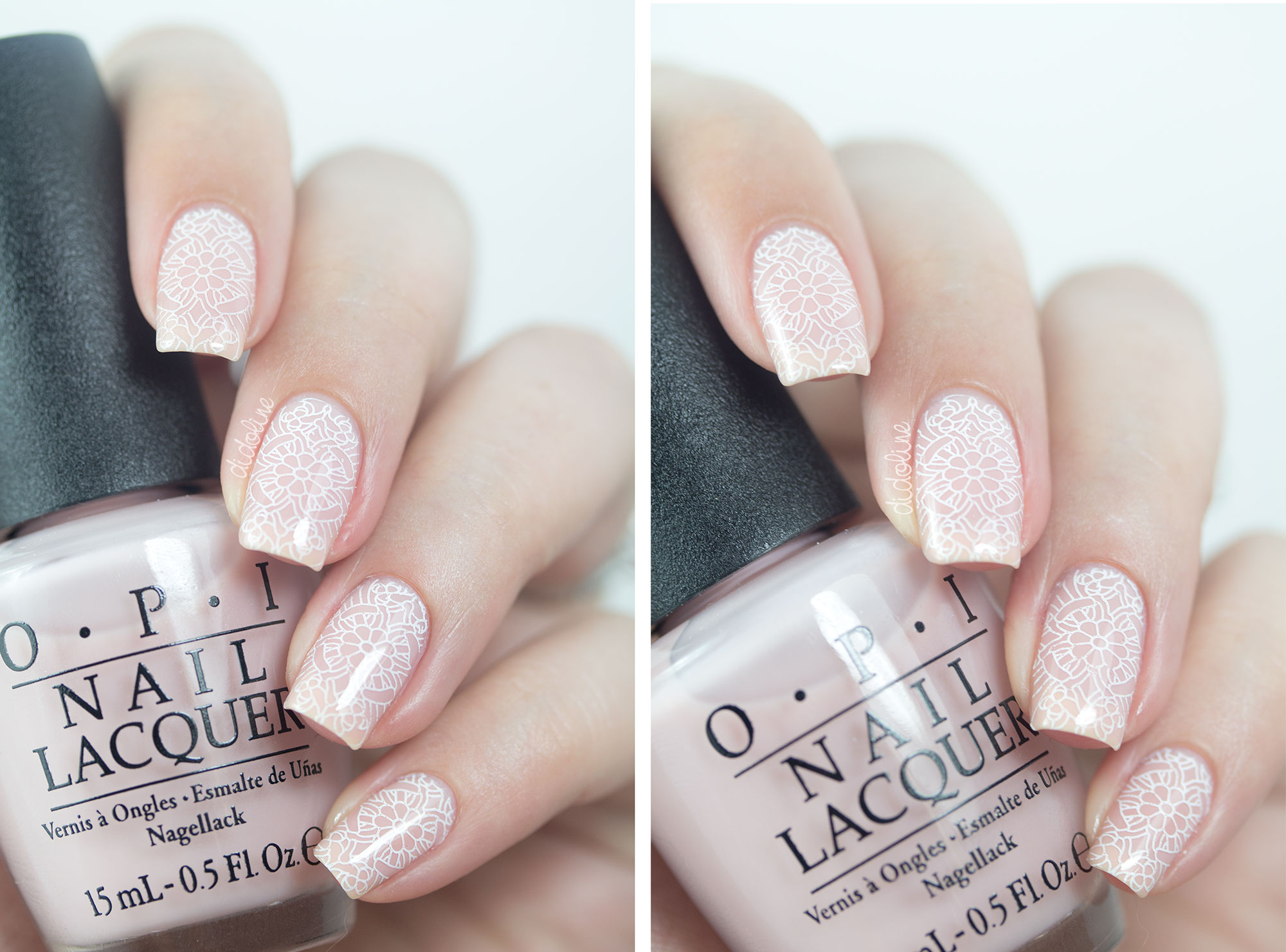 OPI - Soft Shades 2015 - Put it in Neutral - Stamping Emily de Molly