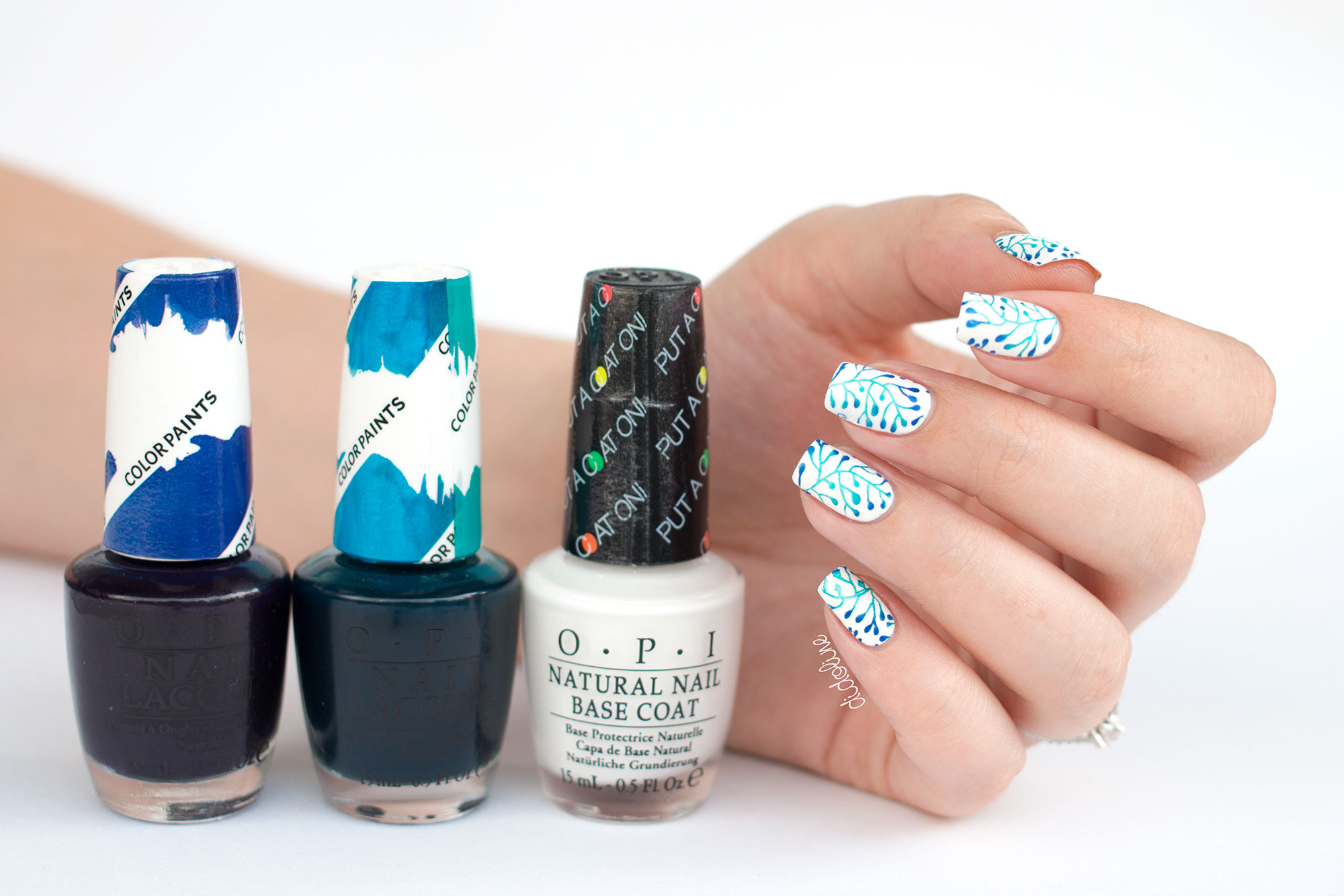 OPI - Color Paints - Stamping Nail Art