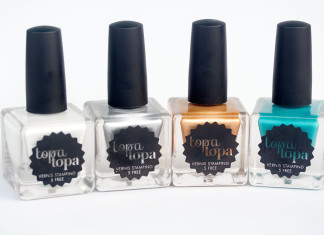 Topatopa - Vernis spécial stamping