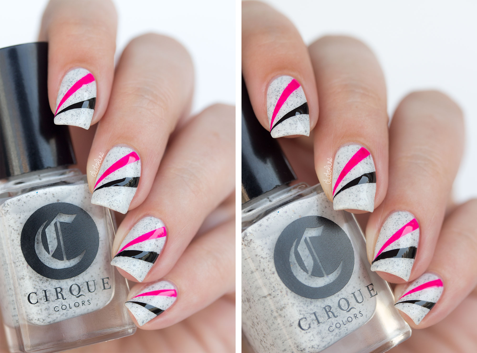 Beliebt Cirque Colors - Hatch et son petit nail-art facile ! EO06