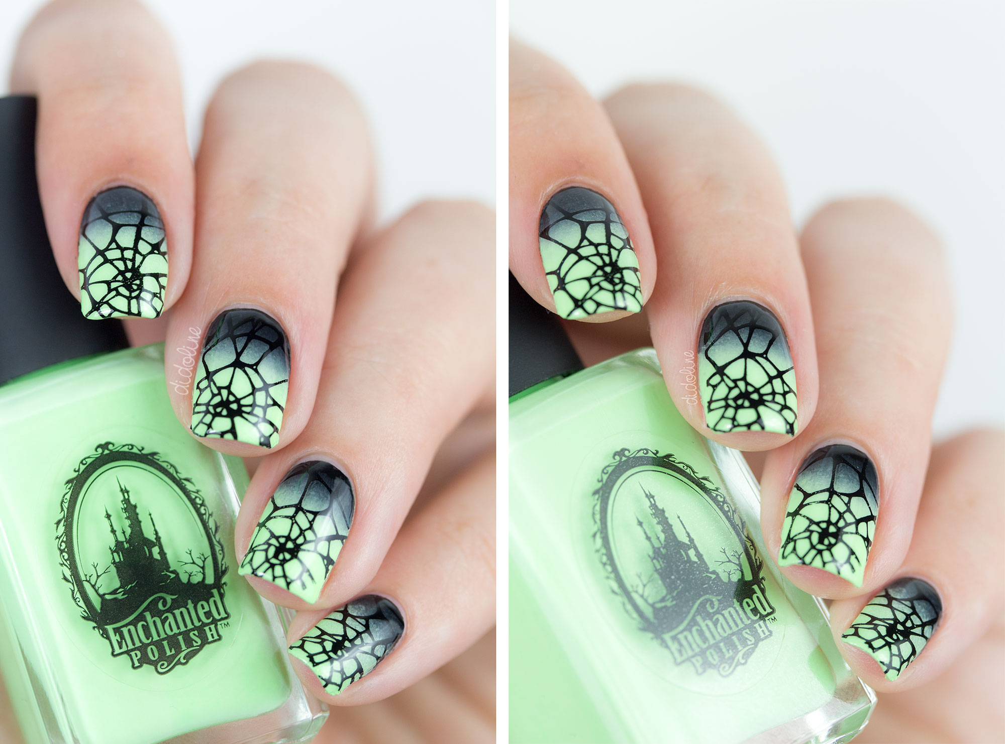 Enchanted Polish - Ectoplasm - Halloween Nails