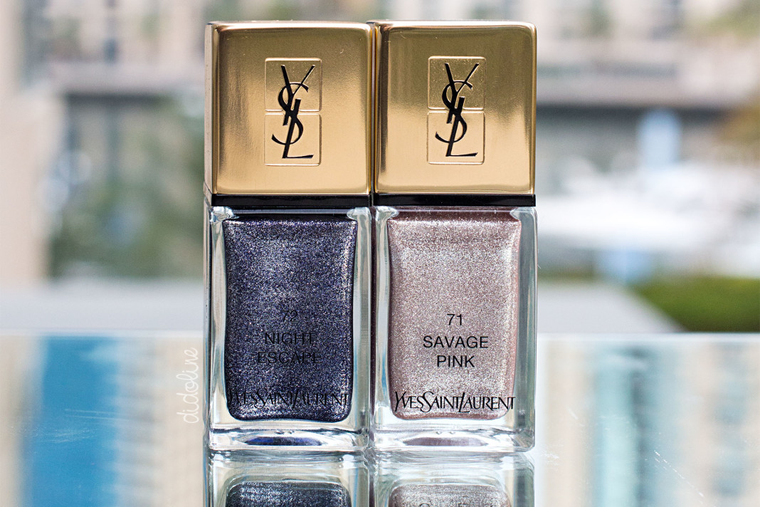 YSL - Savage Pink and Night Escape