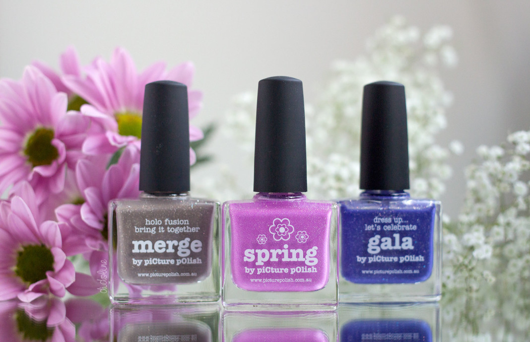 picture polish - merge, spring and gala